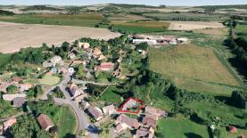 Prodej, stavební parcela, 446 m2, Mileč