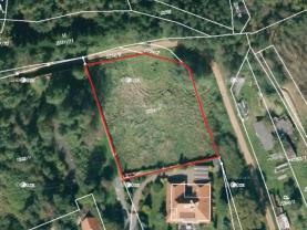Prodej, stavební parcela, 2443 m2, Třemošná