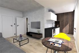 Prodej, byt 2+1, 50 m2, Karlovy Vary, ul. Šmeralova
