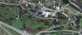 Prodej, stavební pozemek 2743 m2, Branná