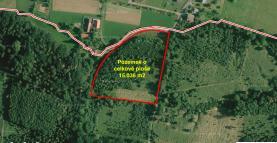 Prodej, stavební pozemek, 15036m2, Horní Datyně