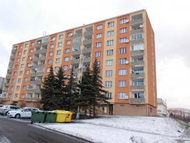 Prodej, byt 2+1, OV, 51 m2, ul. Borová, Chomutov