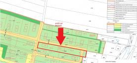 Prodej, stavební pozemek, 2.432 m2, Třeboň, Břilice