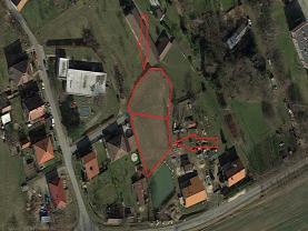 Prodej, stavební pozemek, Turkovice