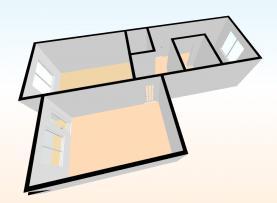 (Prodej, byt 2+1, 60 m2, Klatovy, ul. Pod Hůrkou), foto 3/14