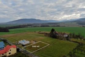 Prodej, pozemek, 1162 m2, Janovice