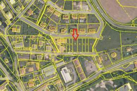 (Prodej, stavební pozemek, 566 m2, Plasy, ul. Krátká), foto 3/8