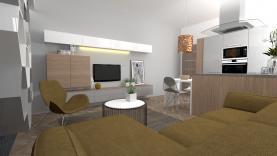 Prodej, byt 2+kk, 48 m2, Praha 4, ul. Jihlavská