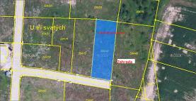 Prodej, pozemek určený k výstavbě, 2934 m2, Horoušany