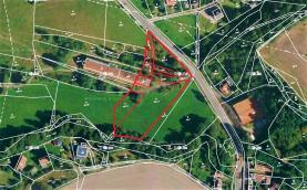 prodej, pozemek,15653 m2, Stupno