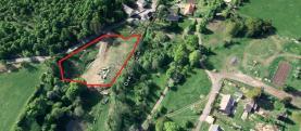 Prodej, stavební parcela, 5 350 m2, Kadaň, Brodce