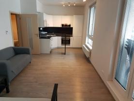Pronájem, byt 1+kk, 34 m2, Ostrava, ul. Jantarová