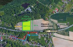 Prodej, stavební pozemek, 10071 m2, Bohumín - Skřečoň