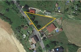 Prodej, pozemek 1.126 m2, Sadov - Podlesí