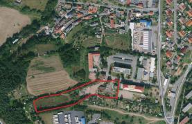 Prodej, stavební parcela, 10653 m2 + projekt, Rakovník