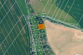 Prodej, les, 1106 m2, Žatec na Moravě