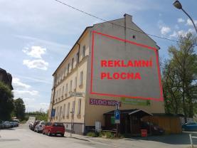 Pronájem, plochy pro banner 65 m2, Ostrava, ul. Žofínská