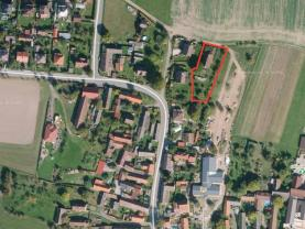 Prodej, stavební pozemek, 1744 m2, Želeč