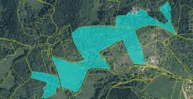 Prodej, pozemky, 110496 m2, Dobkovice