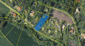Prodej, pozemek, 1254 m2, Stříbrná Skalice