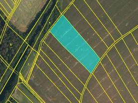 Prodej, pole, 6223 m2, Chvalčov