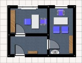 Pronájem, kancelářské prostory, 50 m2, Ostrava