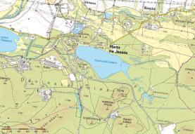 Mapa (Prodej, pozemek 1224 m2, Hamr na Jezeře), foto 3/12