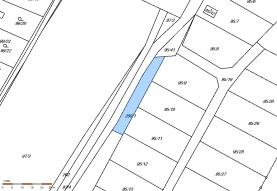 Prodej, pozemek, 237 m2, Perštejnec