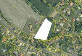 Prodej, stavební parcela, 2230 m2, Boleboř