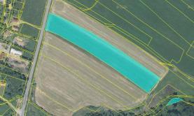 mapa 2 (Prodej, pole 33415 m2, Jablonné v Podještědí - Postřelná), foto 2/4