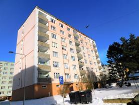 Prodej, byt 1+1, 38 m2, OV, Kraslice, ul. B. Smetany