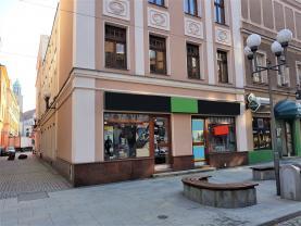 Pronájem, obchodní prostory, 126 m2, Opava - Město