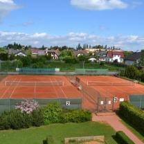 Pronájem, tenisové kurty, 7710 m2, Rudná - Hořelické náměstí