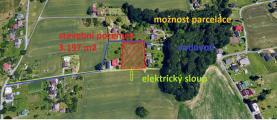Prodej, stavební pozemek, 3197 m2, Rychvald, ul. Severní