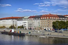 Pronájem, byt 2+kk, 60 m2, Praha 2 Nové Město