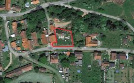 Prodej, stavební parcela, 840 m2, Líšina