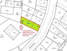 Prodej, stavební pozemek, 440 m2, Náchod, ul. Českoskalická