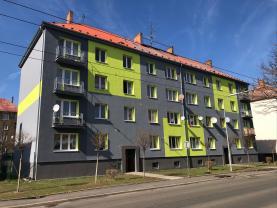 Pronájem, byt 1+1, 35 m2, OV, Jirkov, ul. Ervěnická