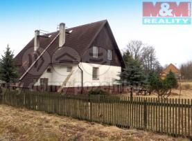 Prodej, rodinný dům 8+2, Lomnice, Bruntál