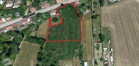 Prodej, stavební parcela, 5449 m2, Bernartice, ul. Táborská