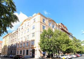 Pronájem, byt 1+1, 55 m2, Praha - Holešovice