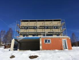 Pohled na dům (Prodej, novostavba 4+kk, 124 m2, Liberec, ul. Vřesová), foto 2/19
