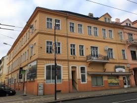 Pronájem, byt 1+kk, OV, 30 m2, Teplice, ul. U nádraží