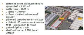 (Pronájem, výrobní hala, 3400 m2, Plzeň, ul. Na Pomezí), foto 4/4