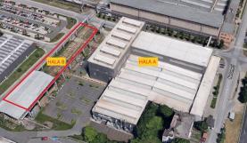 Pronájem, výrobní hala, 3400 m2, Plzeň, ul. Na Pomezí