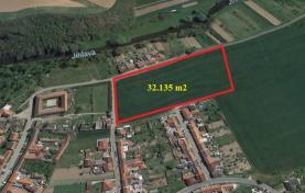 Prodej, stavební pozemek, 32 135 m2, Ivančice - Hrubšice