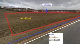 (Prodej, stavební pozemek, 32 135 m2, Ivančice - Hrubšice), foto 2/3