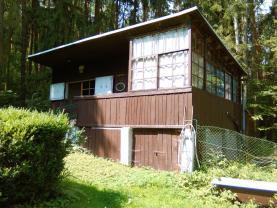 Prodej, chata 44 m2, pozemek 4276 m2, Žloukovice u Nižboru