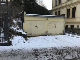 Pronájem, garáž, 27 m2, Liberec, ul. Klostermannova