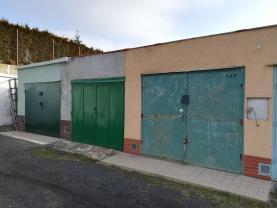 Prodej, garáž,18 m2, Klášterec nad Ohří, ul. Přívozní
